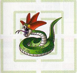Serpent à crête